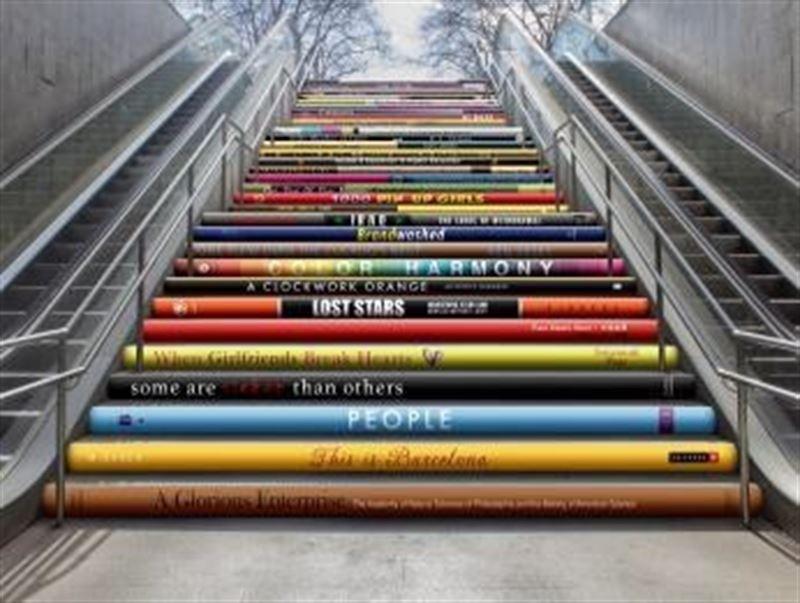 El arte contemporáneo emergente volverá a decorar las escaleras ...
