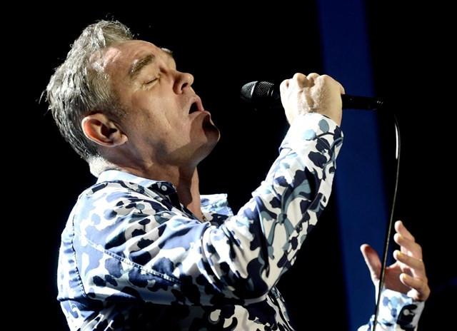 El cantante Steven Morrissey