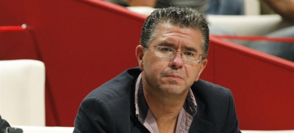 Francisco Granados en la Asamblea de Madrid