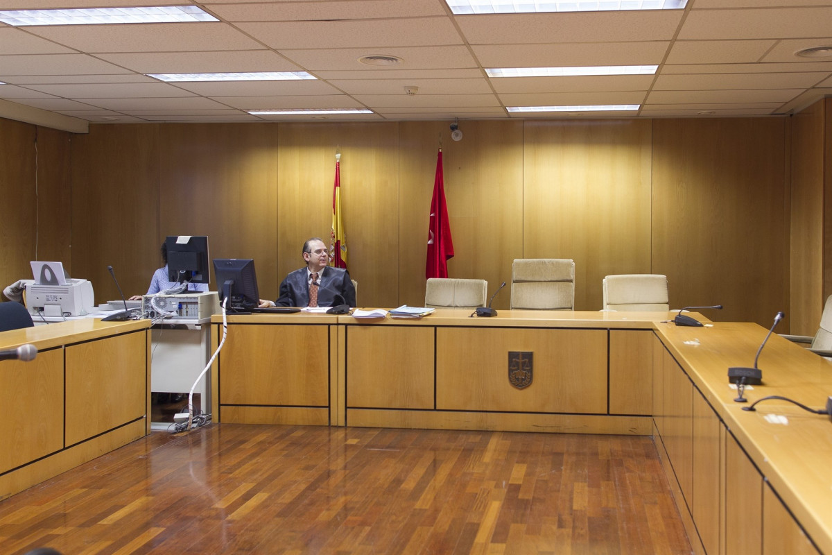 Audiencia Provincial de la Comunidad de Madrid, sala de vistas, sala de juicios