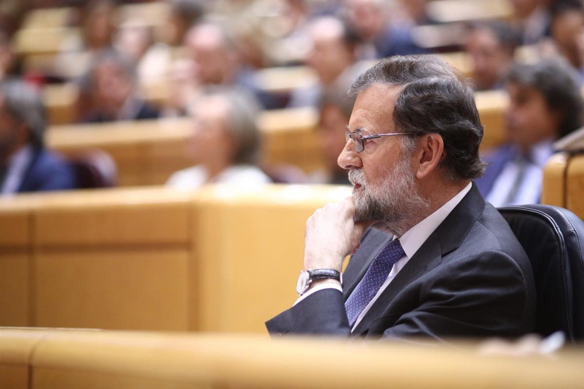 Rajoy senado