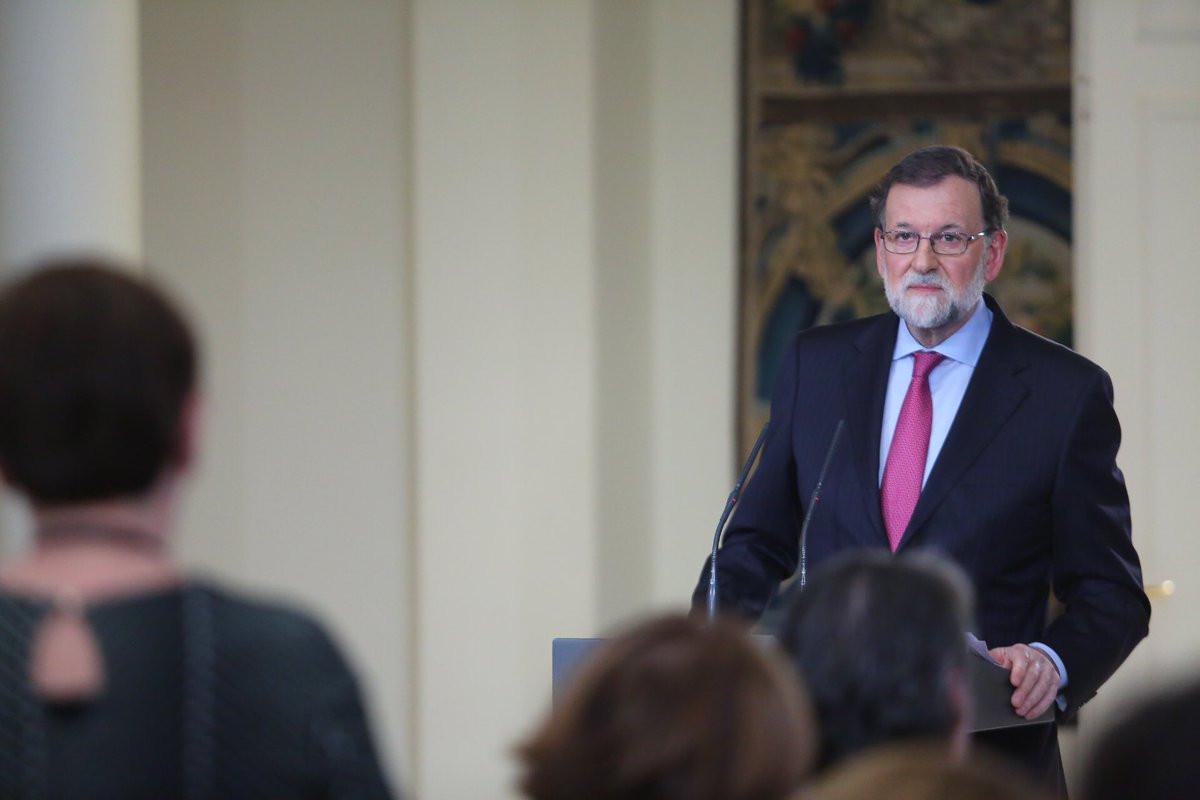 Mariano Rajoy hace balance de 2017