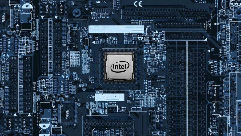 Un procesador intel
