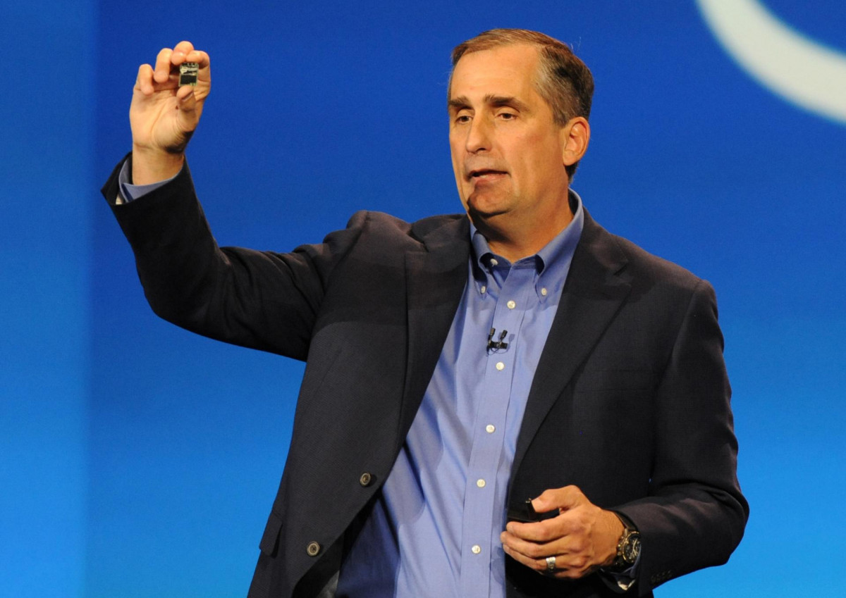 Brian Krzanich%2C Intel Chief Executive Officer