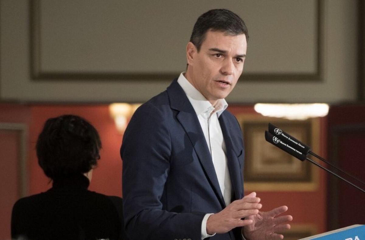 Pedro Su00e1nchez propone sostener el sistema de pensiones con impuestos a la banca