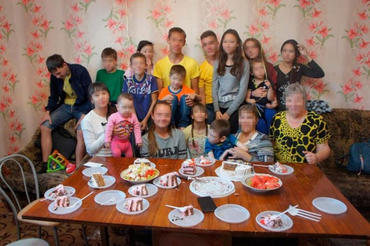 La familia de Viktor Lishavsky