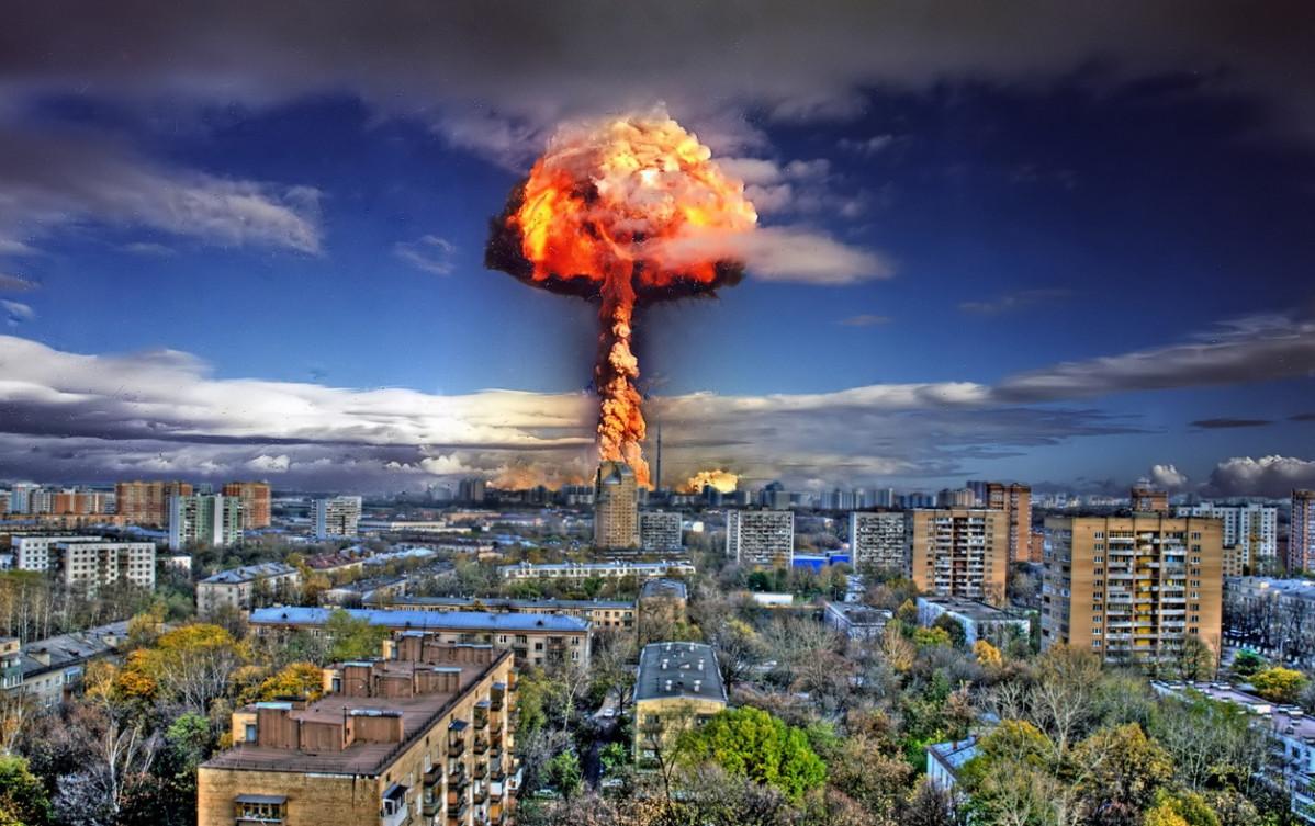 Recreaciu00f3n de un ataque nuclear