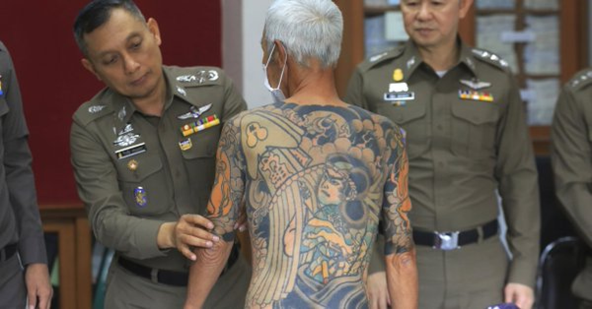 El lu00edder yakuza detenido