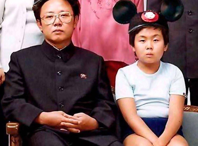 El joven Kim Jong un