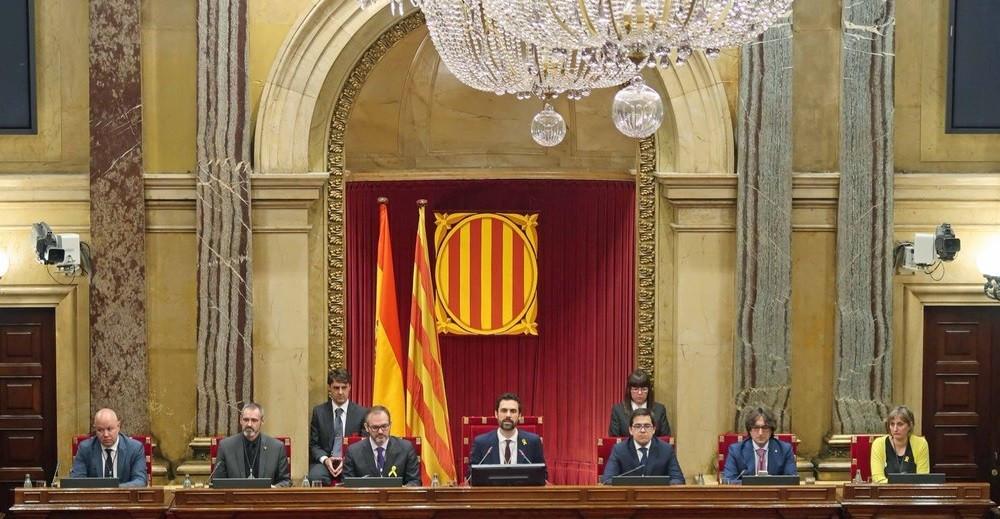 La nueva mesa del parlamento de cataluña