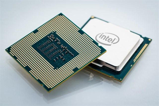 Un chip de Intel