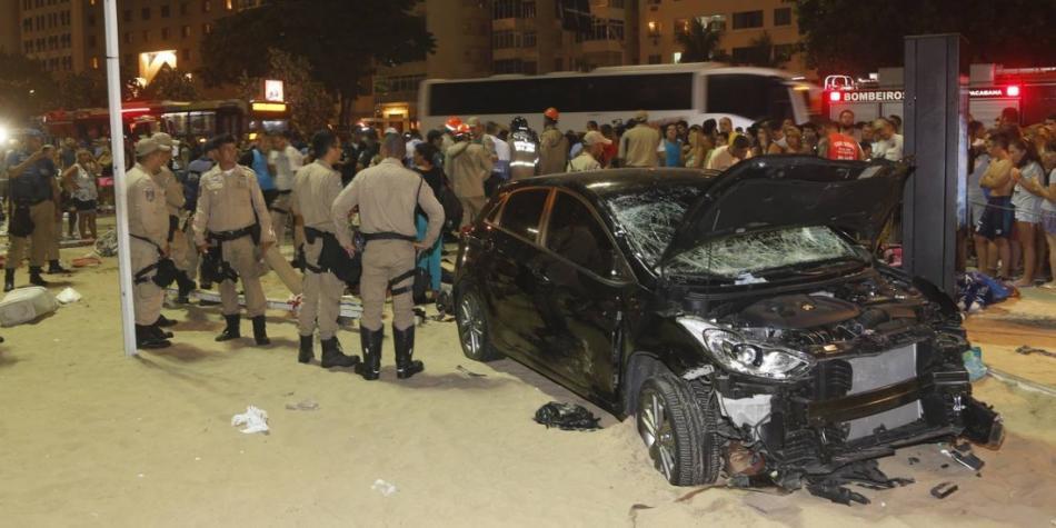 Atropello en Copacabana