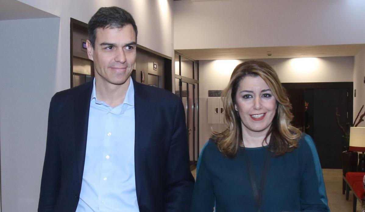 Pedro Su00e1nchez y Susana Du00edaz