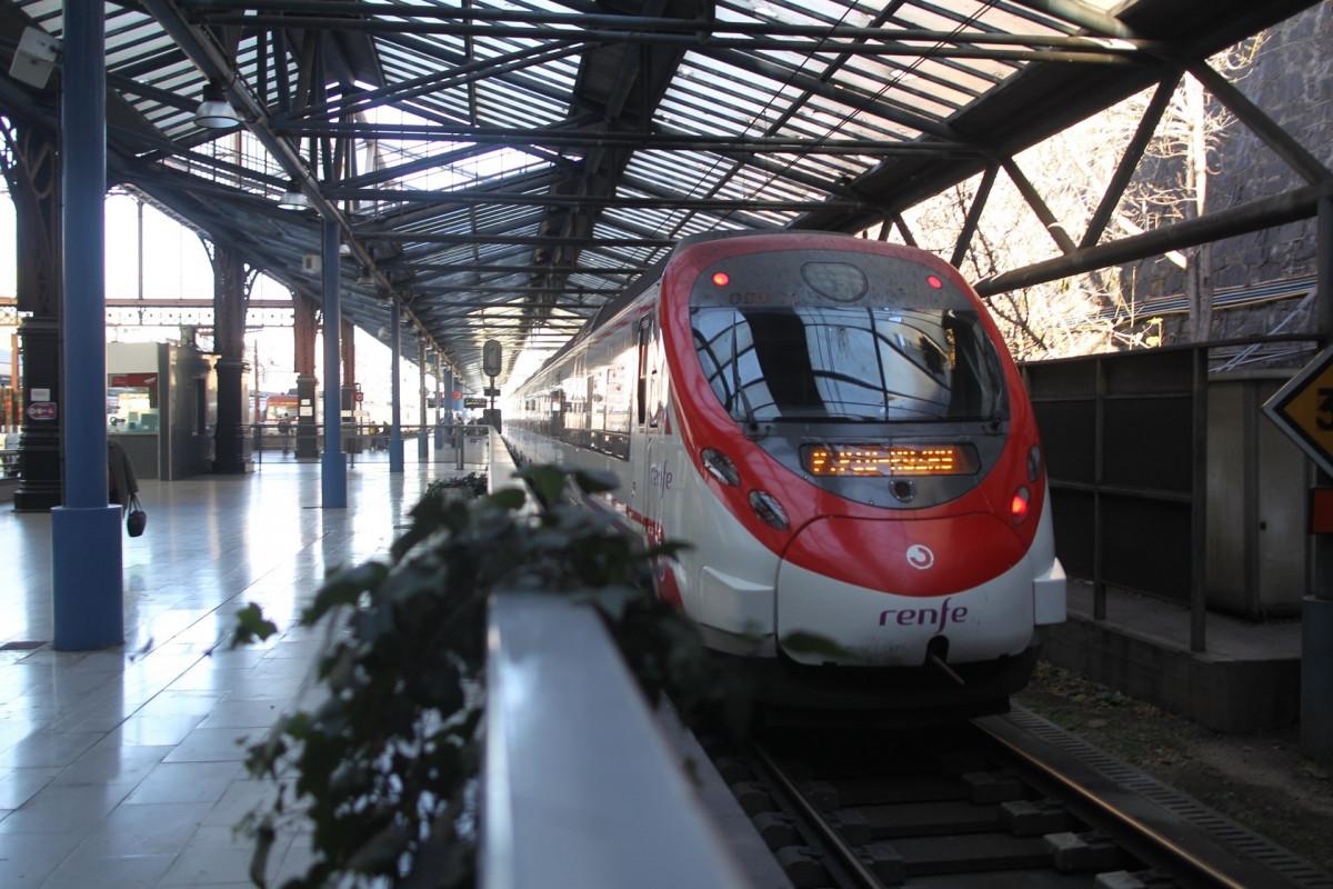 Tren de Cercanías de Renfe en Madrid