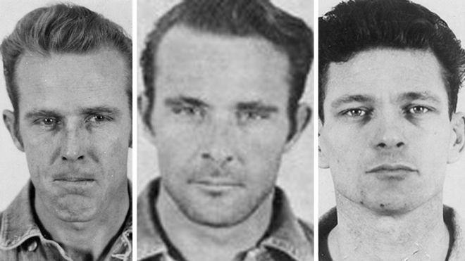 Los tres fugados de Alcatraz