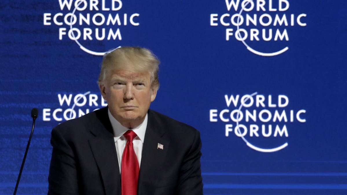 Donald Trump en Davos