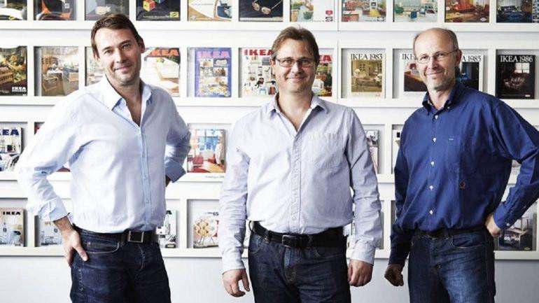 Jonas, Mathias y Peter los tres herederos de IKEA