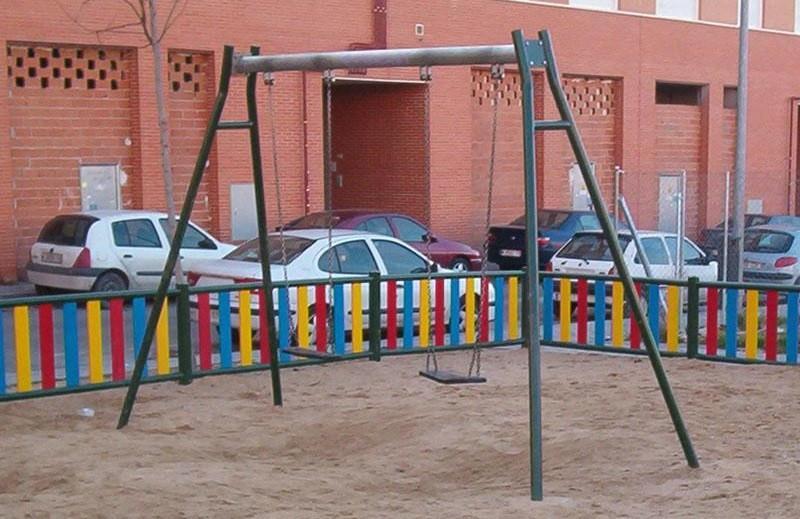 Imagen de un parque infantil