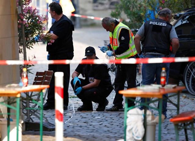 La Policía alemana investigando el ataque de Ansbach