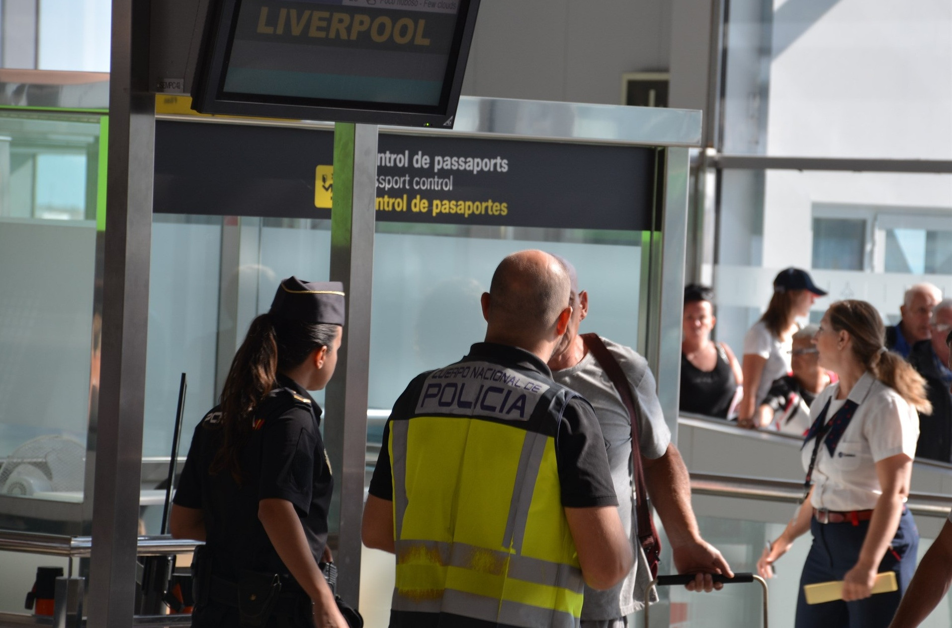 Control fronteras aeropuerto 1