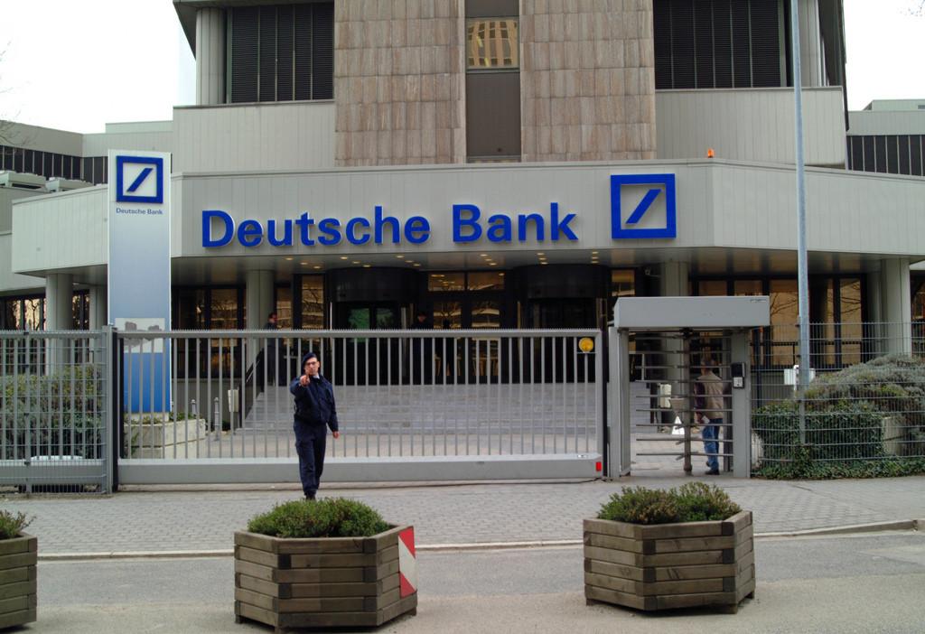 Deutsche Bank despidos