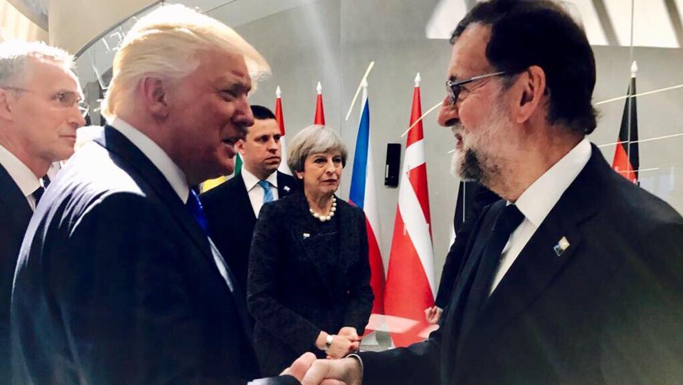 Donlad Trump Mariano Rajoy