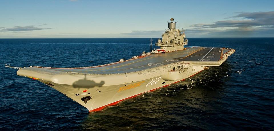 Kuznetsov portaaviones rusia