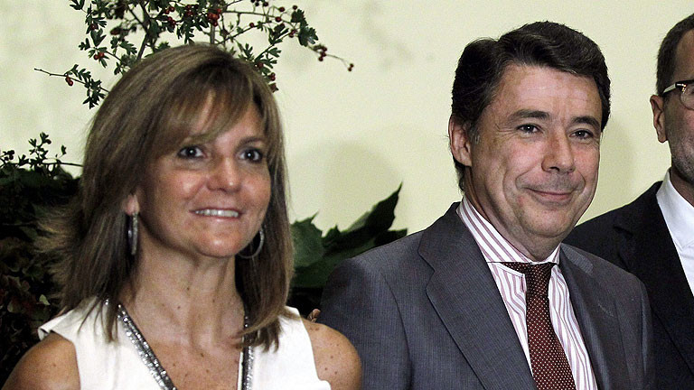 Lourdes Cavero mujer ignacio gonzalez
