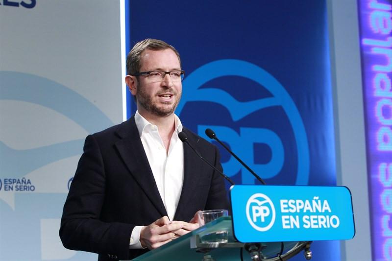 Javier Maroto durante un discurso