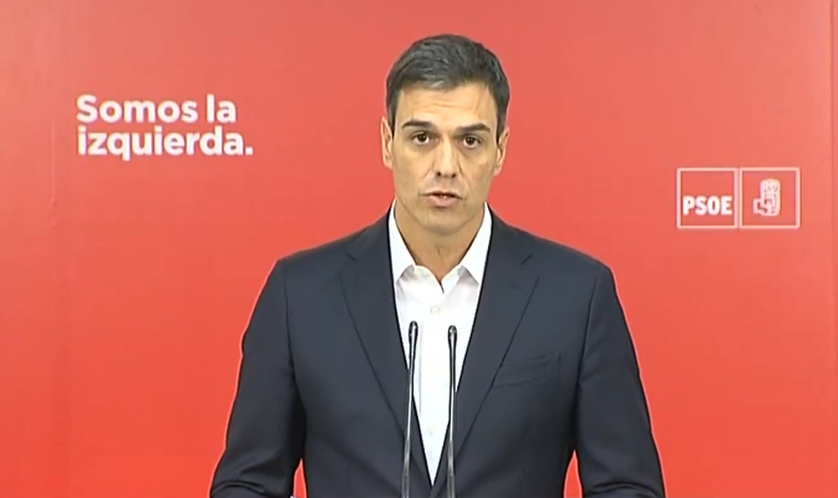 Pedro sanchez exige dimision Rajoy
