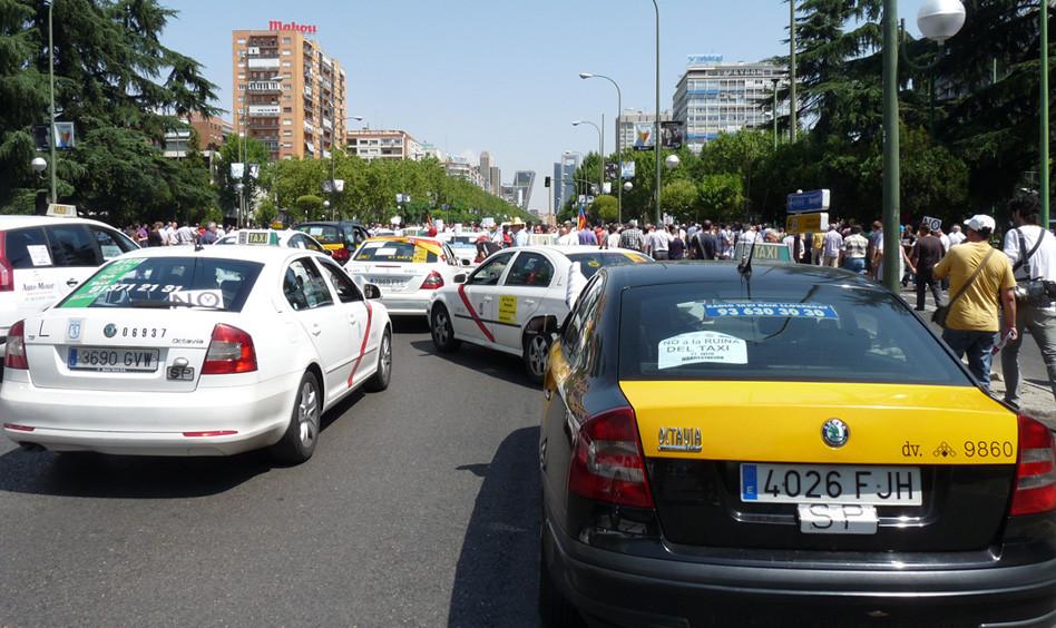 Protesta Taxis