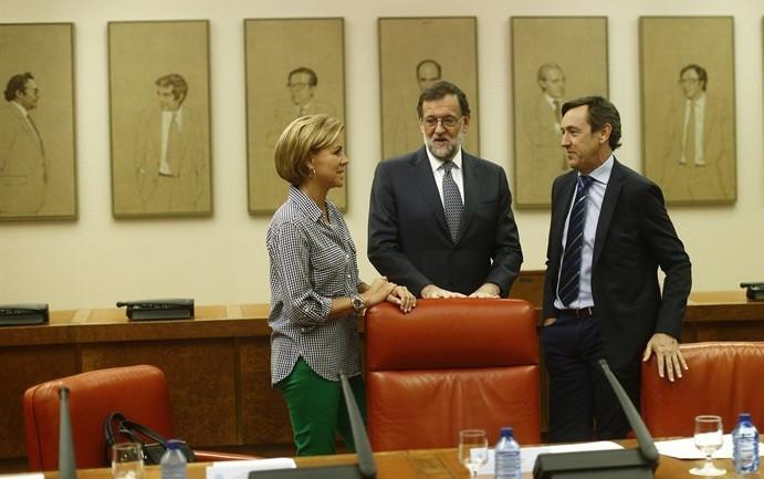 Rajoy evita hablar