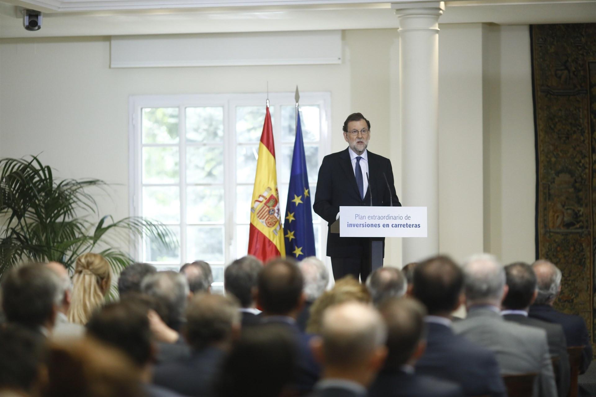 Rajoy presenta plan extraordinario inversiones carreteras