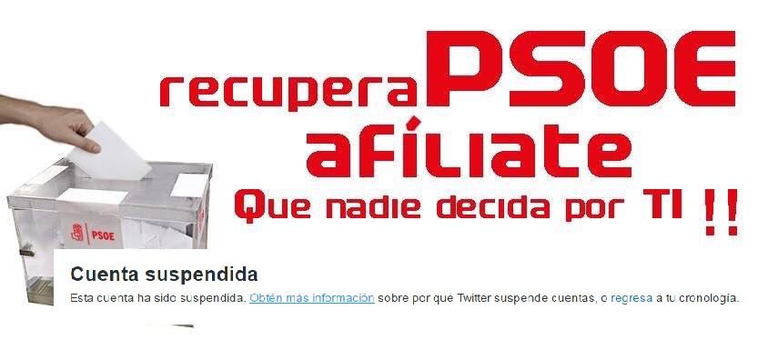 Recupera PSOE suspendida