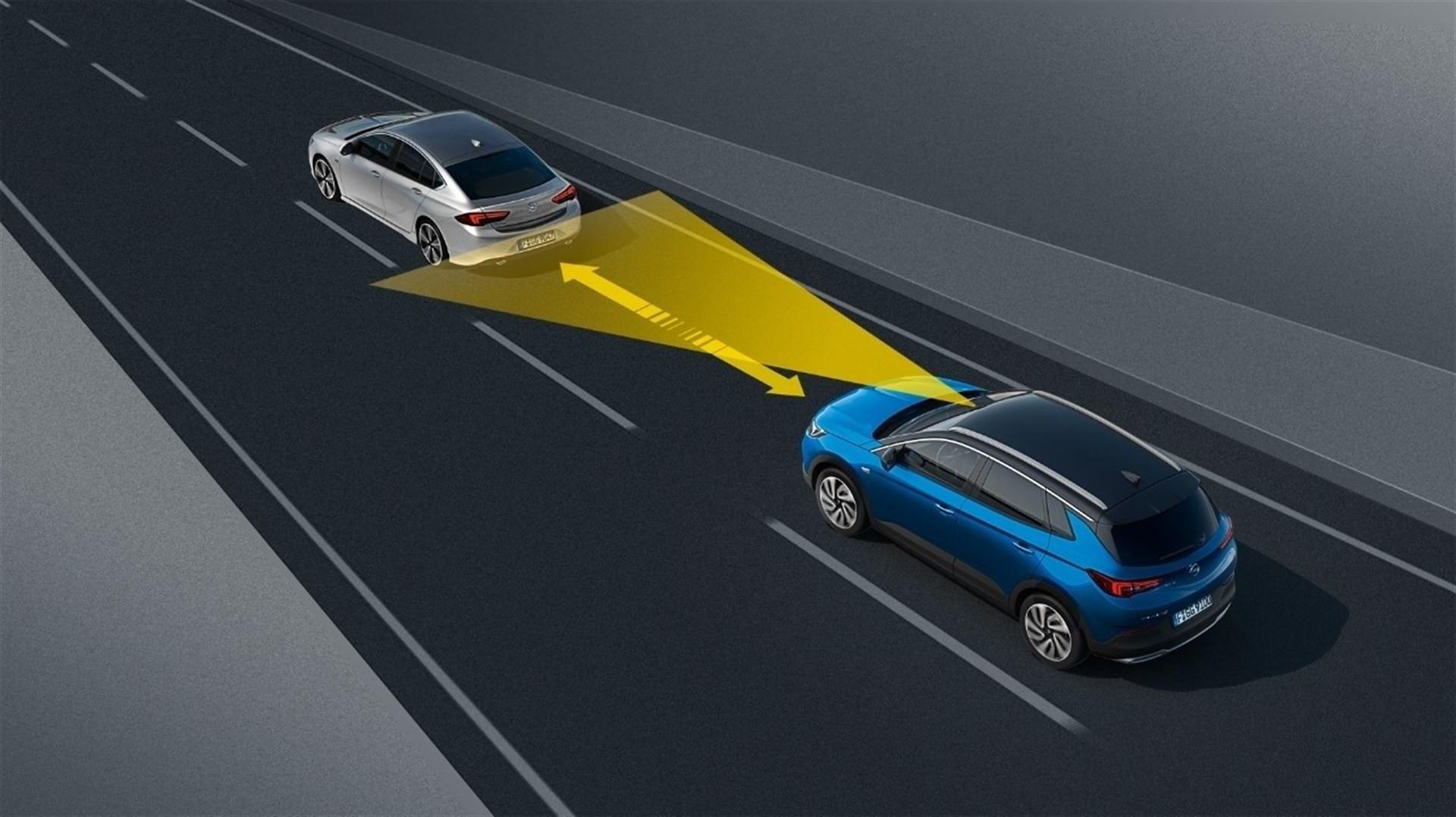 Sistemas asistencia Opel Grandland X