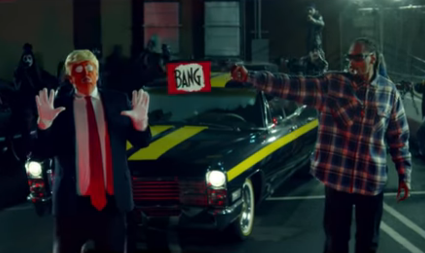 Snoop Dogg dispa Trump