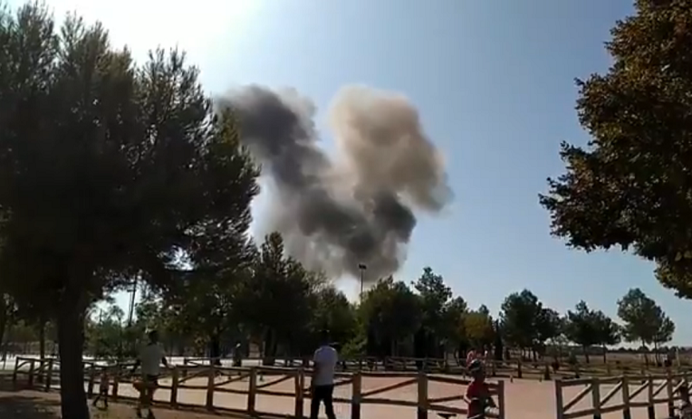 Accidente eurofighter albacete