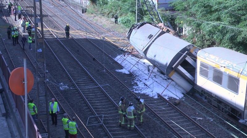 Accidente tren porrio