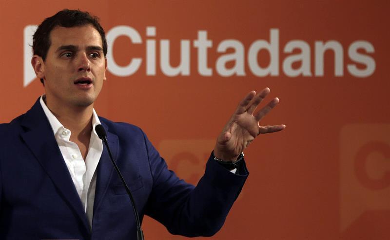 Rivera durante un discurso