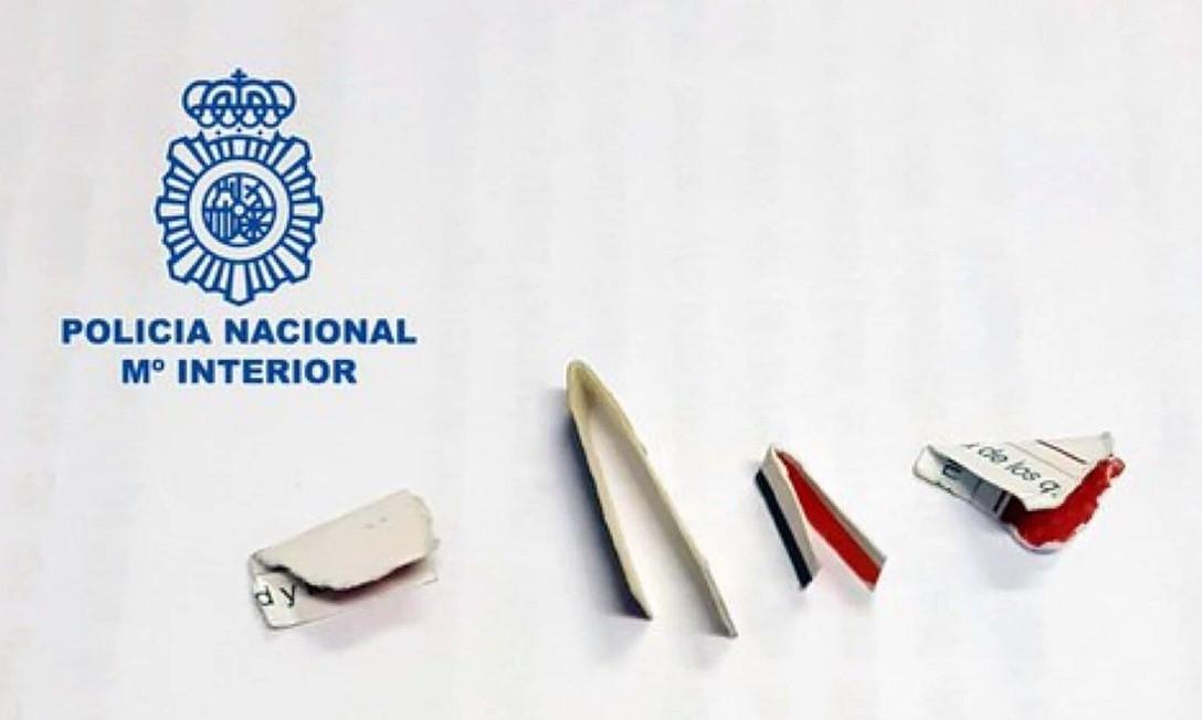 Cartones policia