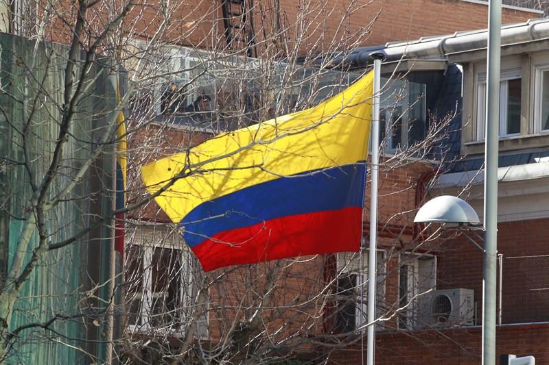 Colombiabandera