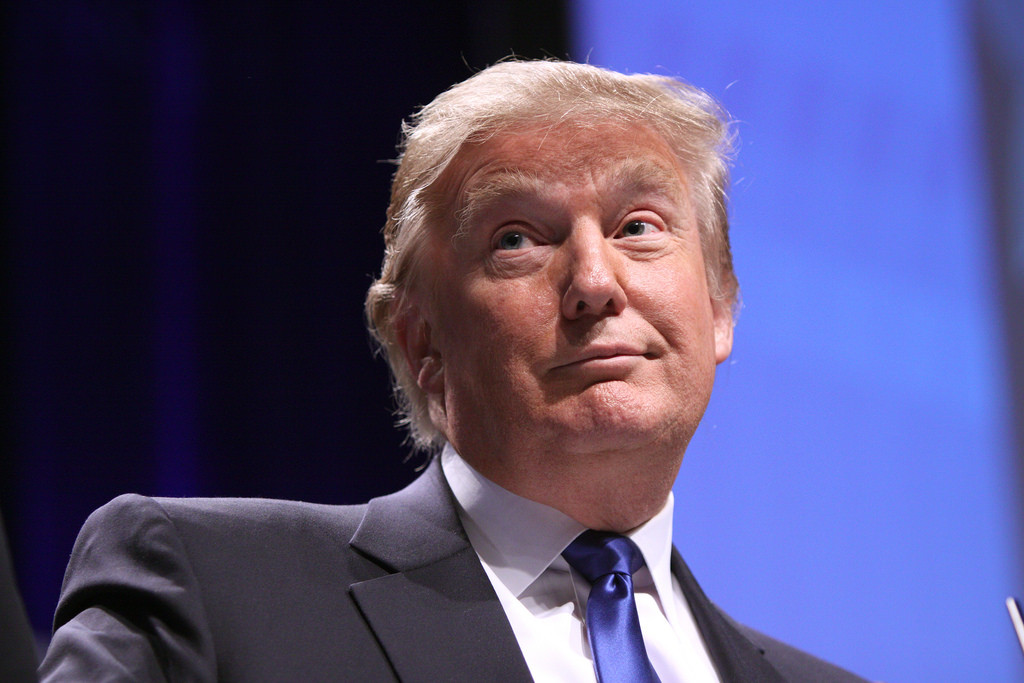 Donald trump op