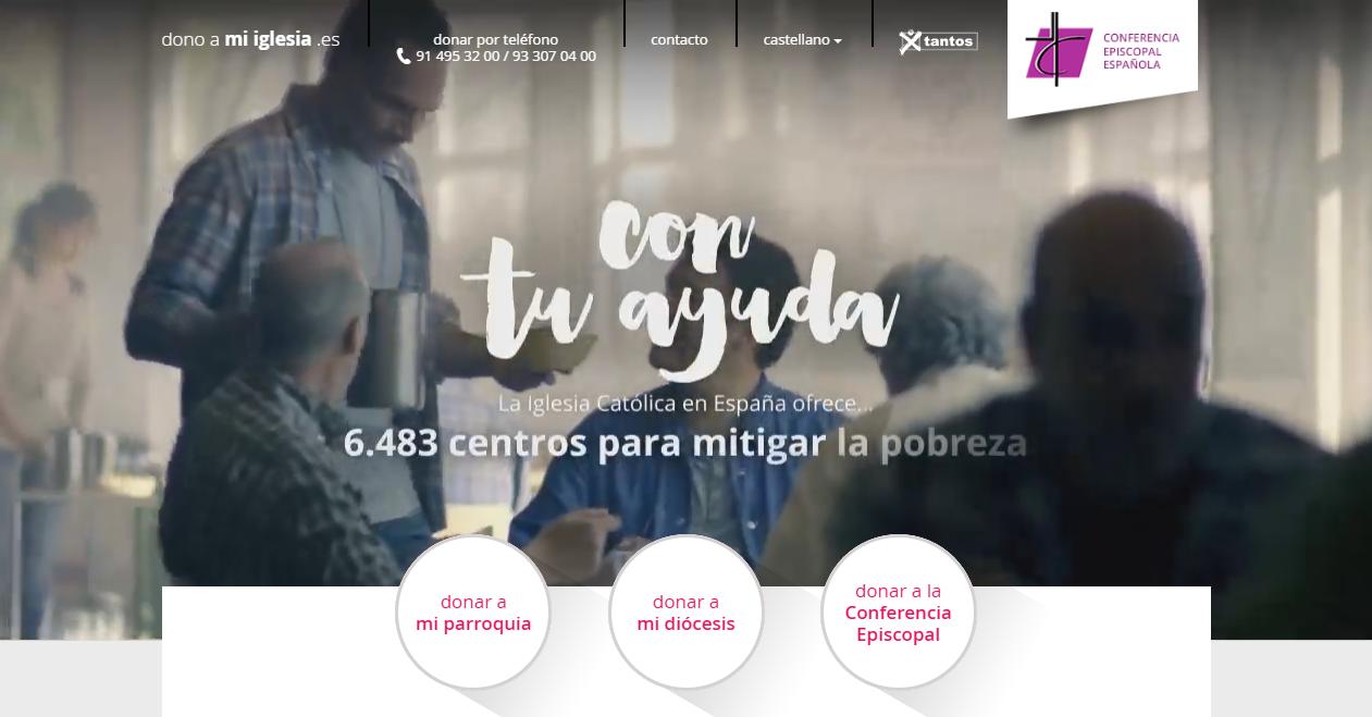 Donativos iglesia internet