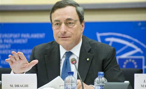 9Mario Draghi, presidente del BCE