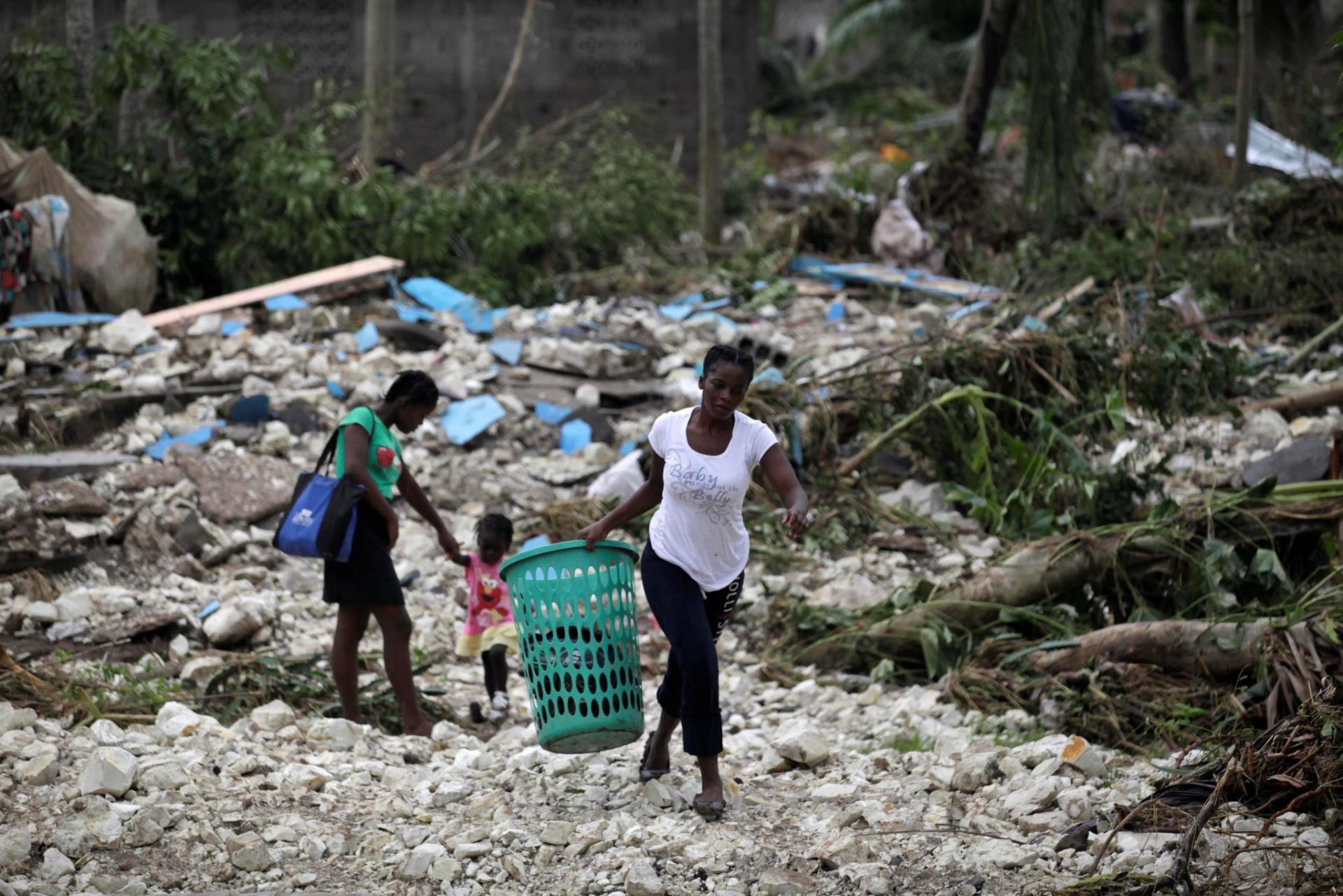 Haiti huracan