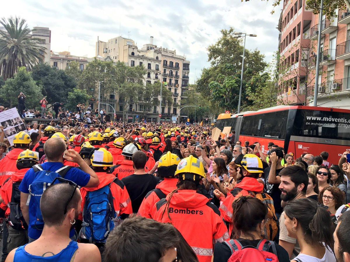 Huelga cataluna 3 octubre