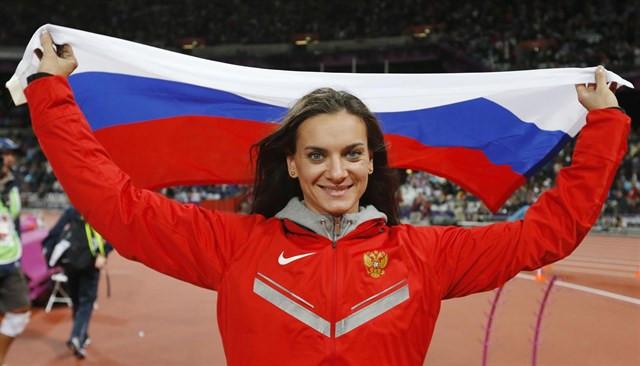 Deportista rusa ganadora de oro en los Juegos de Sochi