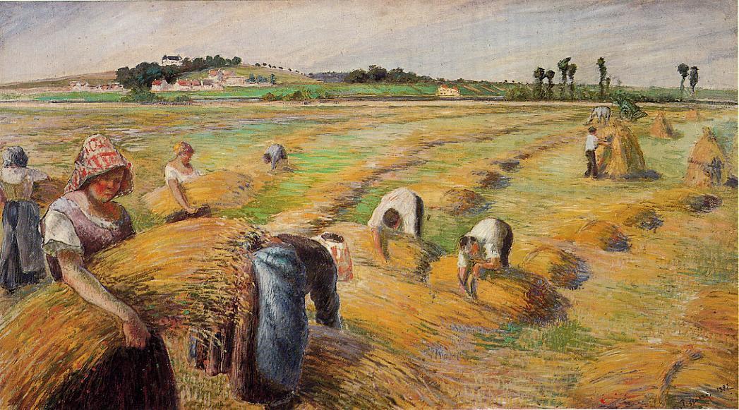 La cosecha pisarro