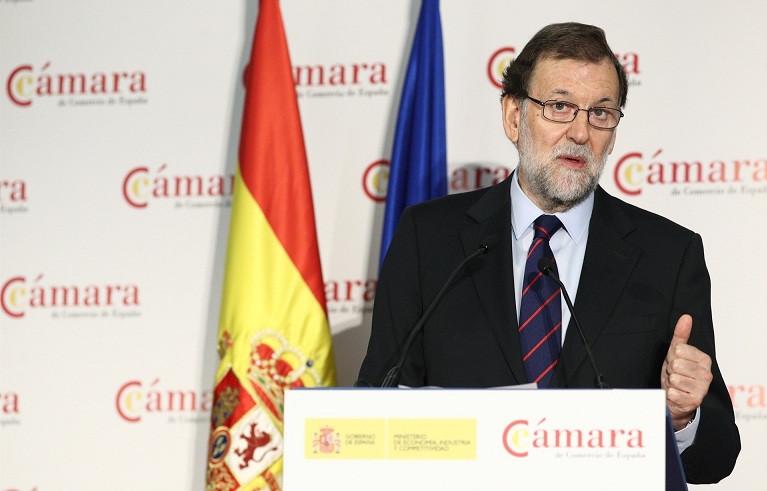 Mariano rajoy camara comercio