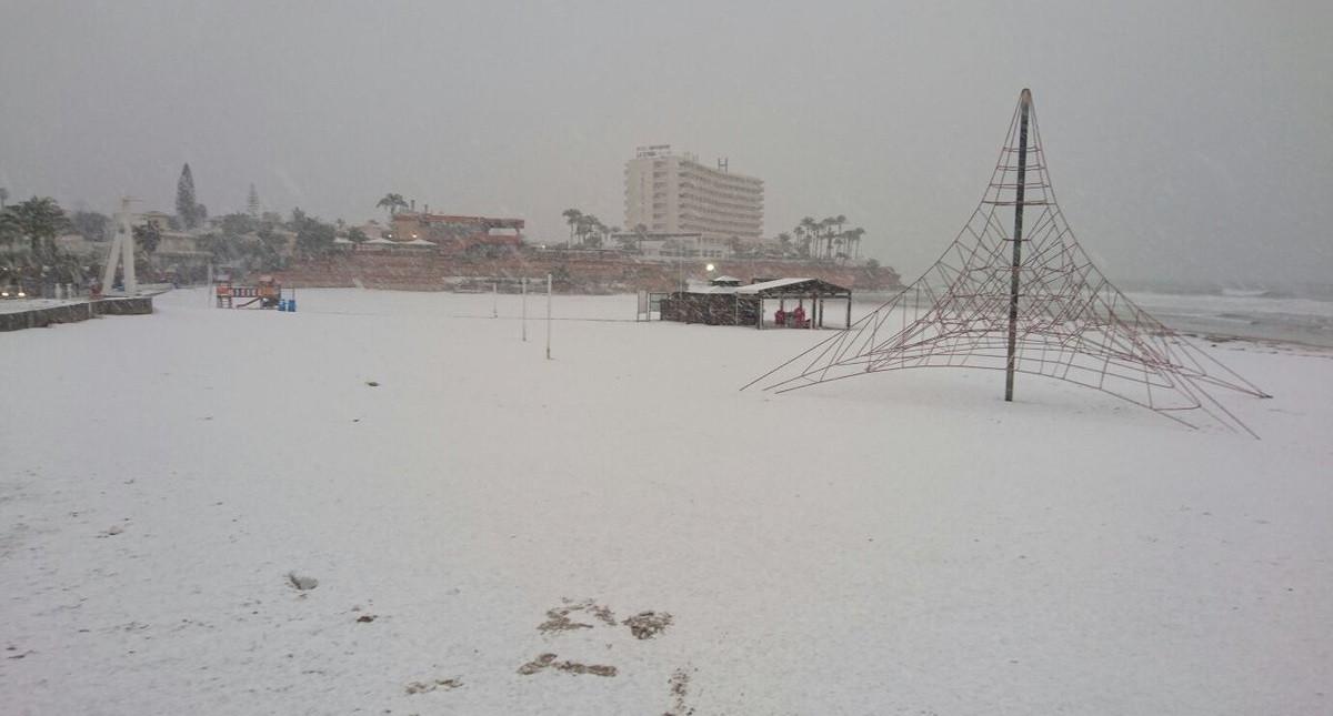 Nieve torrevieja